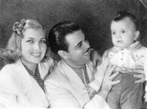 Daniel com seus pais - 1938